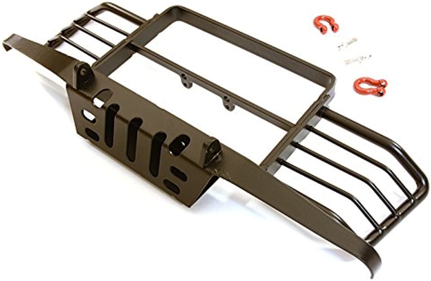 Integy RC Model Hop-ups C27223 Realistic Front Bumper for 1 10 Scale D90 & D110 Gen-2 Crawler