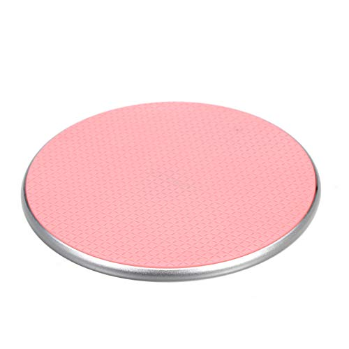 5/7.5/10W Wireless Charger Aluminium Alloy Flying Disk Fast Charging Pad Compatible with Samsung Galaxy S9/S9 Plus/S8/S8 Plus/Note 9/iPhone X/XS/XS MAX/XR