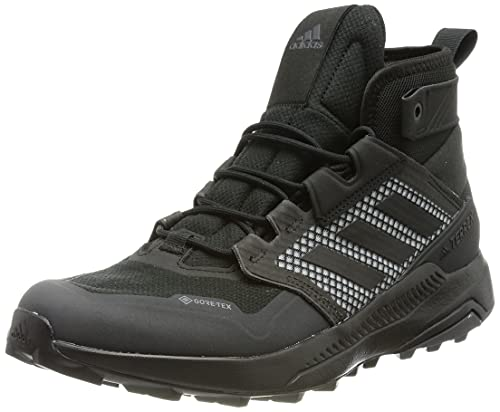 adidas Terrex Trailmaker Mid GTX, Scarpe da Trekking Uomo, Core Black/Core Black/DGH Solid Grey, 43 1/3 EU