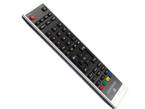 Superior Ersatz Fernbedienung für TECHNISAT COLANI-TV72-5000C