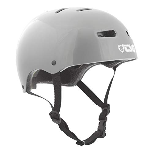 TSG Casco Skate/BMX Solid Color, Injected Grey, S/M, 75040