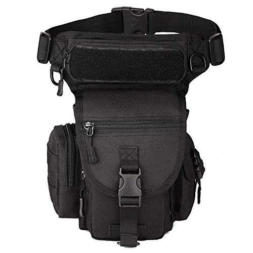 CREATOR Tactical Drop Leg Bag Military Thigh-Hip Outdoor Pack Fishing Tool Fanny Pack