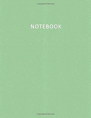 Notebook: Quaderno per appunti per Scuole Medie e Superiori – Rigatura 1R -  100 pagine numerate – Elegante e Moderno color pastello nella tonalità ... Doddles, Schizzi, Disegni, Note, Memorie