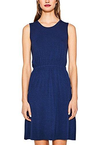 ESPRIT Damen 067EE1E011 Kleid, Blau (Navy 2 401), X-Large