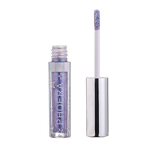 Glitter Lidschatten Eyeliner/BRISEZZ Eyeshadow Kupfer glitzerndes Finish, leuchtende Farben, intensive Deckkraft–Für intensive Effekte und den perfekten Augen-Look