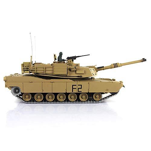 Henglong 1/16 TK6.0 M1A2 Abrams RTR RC Tank 3918 Metal Tracks Sprockets Idler Steel Gearbox