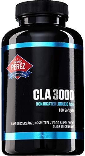 CLA - 3000 mg Pro Dosis - Hochdosiert - Konjugierte Linolsäure - 100 Softgels