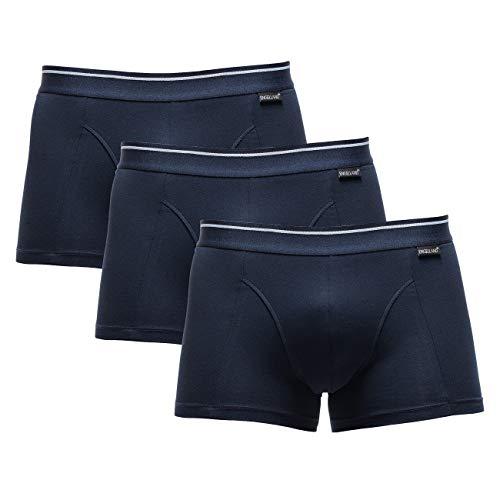 Engelland merk Boxershorts voor mannen, 3-pack in blauw, heren ondergoed, maten M-XXL