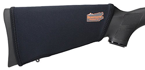 Beartooth StockGuard 2.0 - Premium Neoprene Gun Stock Cover - NO Loops Model (Black)