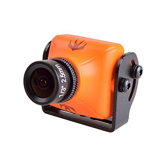 RunCam Swift 2 (Noir et Orange, Lens2.1mm/2.3mm/2.5mm) (Orange, FOV 150° 2.3mm)