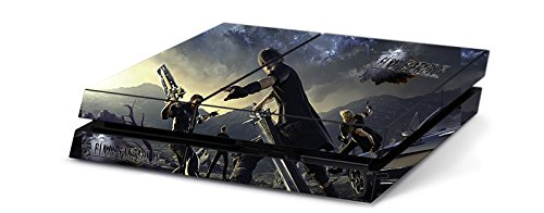 Final Fantasy XV FFXV FF15 Limited Edition Game Skin for Sony Playstation 4 PS4 Console