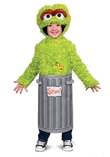 Sesame Street Infant Oscar the Grouch Costume 3T/4T