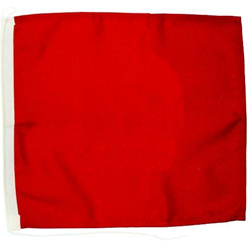 Notflagge rot 60x60cm