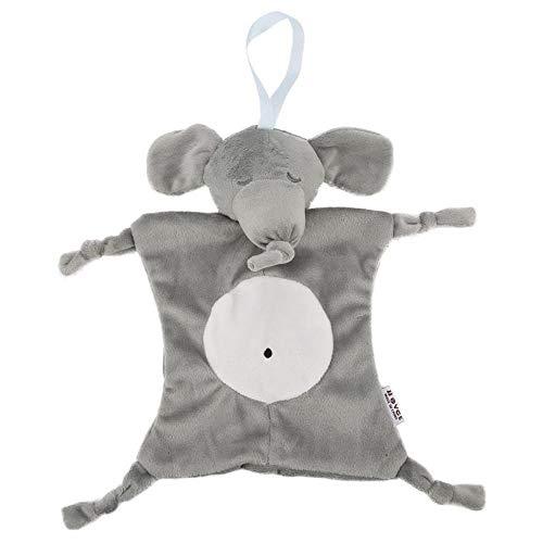 Dibujos Animados Elefante Conejo Oso bebé muñeca de Felpa Toalla de Saliva Cama de bebé Juguete para niños Toalla de bebé Multifuncional toallitas Tipo a