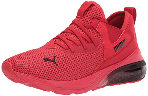 PUMA Men's Cell Vive Running Shoe, High Risk Red Black, 10.5