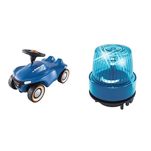 Big-Bobby-Car Neo Blau - Rutschfahrzeug für drinnen und draußen, Kinderfahrzeug & SOS-Light & Sound - Bobby Car Zubehör, passend für alle Bobby Car Lenkräder mit Hupeneinsatz ab Baujahr 2010