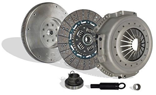 Clutch Kit Works With And Flywheel Dodge Ram 2500 3500 Base Extended Standard Cab Pickup 1994-1998 5.9L l6 DIESEL OHV Turbocharged