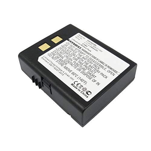 subtel® Qualitäts Akku kompatibel mit Datalogic PSC Falcon 4400 Falcon 4410 Falcon 4420 Falcon 2150 Falcon 5500 (2400mAh) 11-0023, 95ACC1302 Ersatzakku Batterie