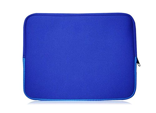 Sweet Tech Blau Neopren Hülle Tasche Sleeve Case Cover geeignet für Medion Akoya P2214T 11.6 Zoll Windows Multimode Notebook (11.6-12.5 Zoll Laptop)
