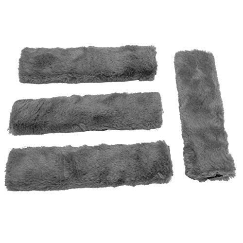 4Pack Seat Belt Covers,Soft Fur Car Seat Protector Strap Pads for Adults Kids and Baby,Car Seat...