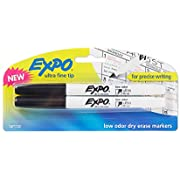 Expo Low-Odor Dry Erase Markers, Ultra-Fine Tip