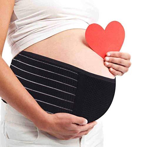 AIWITHPM Cinturón Apoyo Embarazada, Maternidad Faja, Premamá Banda - Aliviar el Dolor...