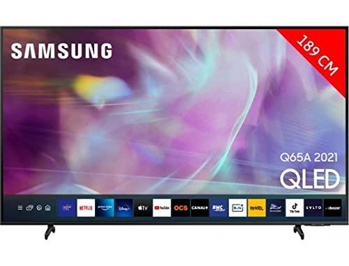SAMSUNG - Televiseurs led de plus 65 pouces SAMSUNG QE75Q65A - QE75Q65A