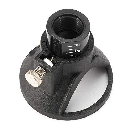 MXBIN Elektrische Rotary Dremel Fräsvorsatz Tiefe Grinding Zubehör Mini Bohrwerkzeug Dedicated Fixed Base Halter Locator 18.5x2mm Hardware-Reparaturwerkzeuge