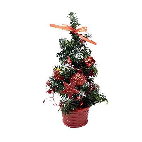 albero di natale 30 cm DELITLS Mini albero di Natale da tavolo albero di Natale