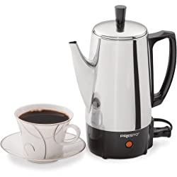 Presto 02822 6-Cup Stainless Steel Coffee Maker