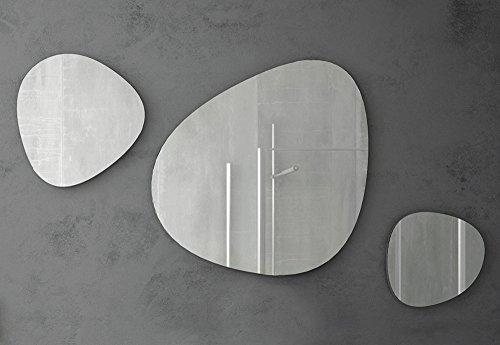 Specchio dal Design moderno Stone - Set 3 Pz