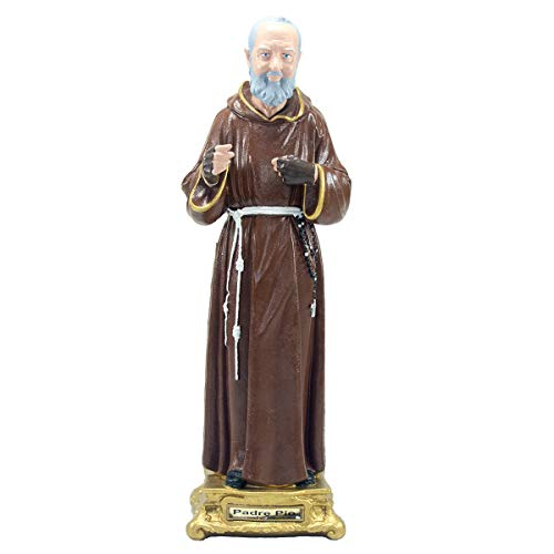 Imagem São Padre Pio 38cm Inquebrável