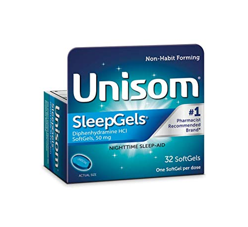 Unisom SleepGels, 32 Softgels per Box