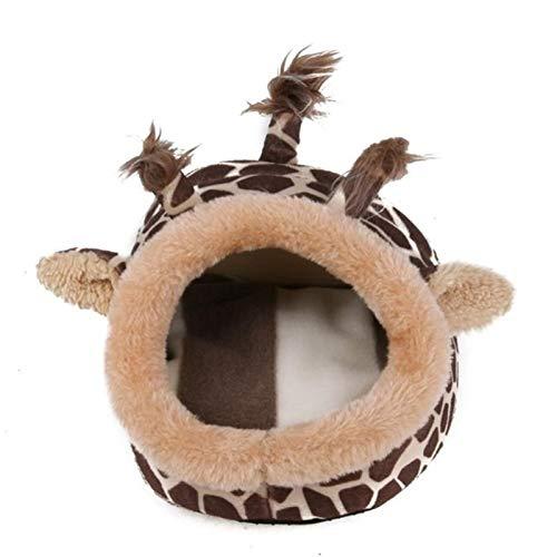 Camas pequeños animales Cama del animal doméstico - ardilla de peluche de hámster jaula de animales pequeños cama de arena cerdos de guinea casa chinchillas erizo ratón ciervo accesorios de cama de há