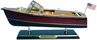 Hampton Nautical  Chris Craft Triple Cockpit Speedboat, 14