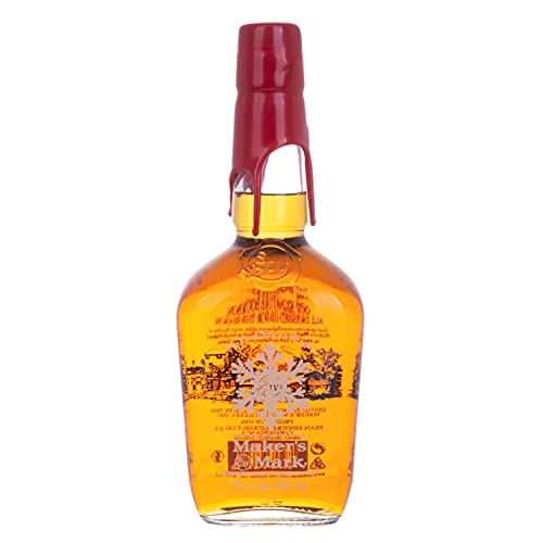 Maker's Mark Kentucky Straight Bourbon Whisky HOLIDAY EDITION 2019 45% - 700ml