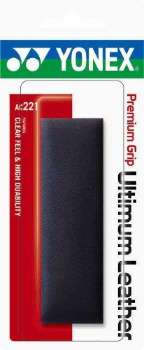 ヨネックス(YONEX) テニス リプレイスメントグリップ プレミアムグリップ アルティマムレザー AC221 ブラック