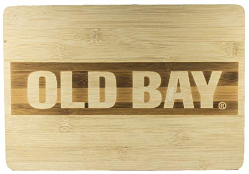 Old Bay Seafood Seasoning Licensed Old Bay Logo Bamboo Cutting Board