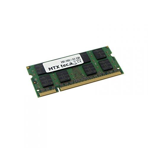 MTXtec 4GB Notebook Arbeitsspeicher SODIMM DDR2 PC2-6400, 800MHz, 200 Pin RAM Laptop-Speicher