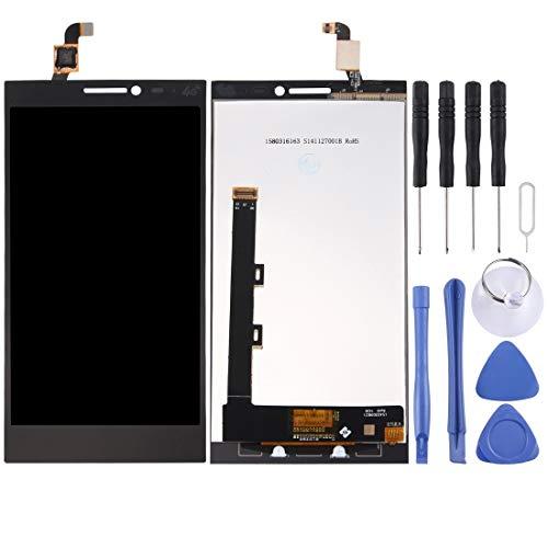 Zhouzl Lenovo LCD Screen LCD Screen and Digitizer Full Assembly for Lenovo Vibe Z2 (Black) Lenovo LCD Screen (Color : Black)