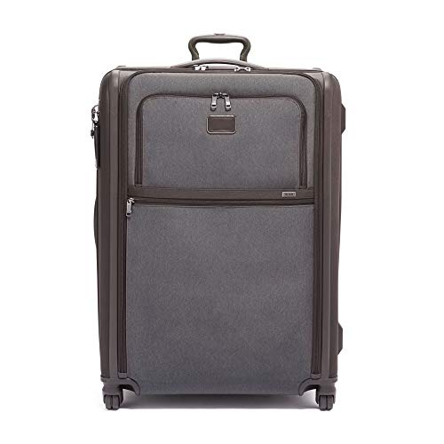 TUMI - Alpha 3 Extended Trip Expandable 4 Wheeled Packing Case Suitcase - Rolling Luggage for Men and Women - Anthracite