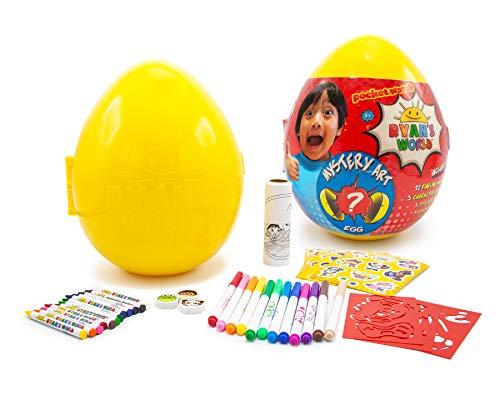 RYAN'S WORLD Mystery Art Egg