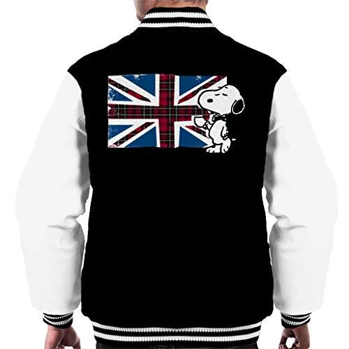 Pinda's Snoopy Union Jack en thee Varsity jas voor heren