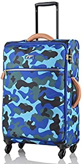 SMLCTY Trolley Case,carryon Luggage With Spinner Wheels,carry On Luggage With Spinner Wheels,Travel Rolling LuggageBoarding Waterproof Lock Camouflage Case Trolley Case 19 inches, 24 inches, 28 inches