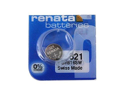 321 Watch battery - Strip of 5 Batteries