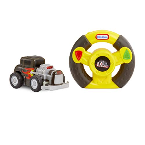Little Tikes YouDrive Hotrod W/ Flames W/ Easy Steering Remote Control, Multicolor