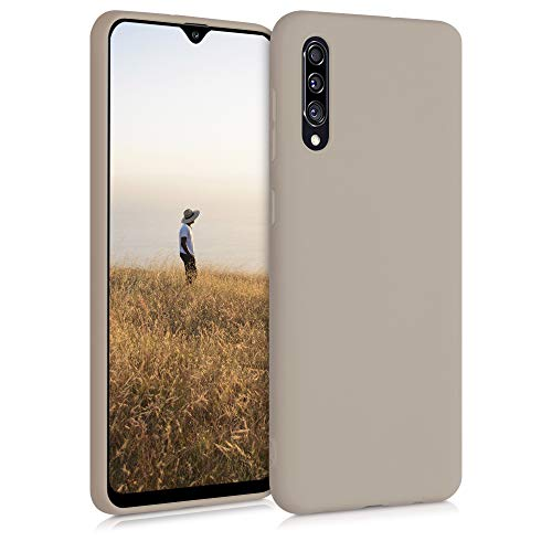 kwmobile Hülle kompatibel mit Samsung Galaxy A30s - Hülle Handyhülle - Handy Hülle in Creme matt