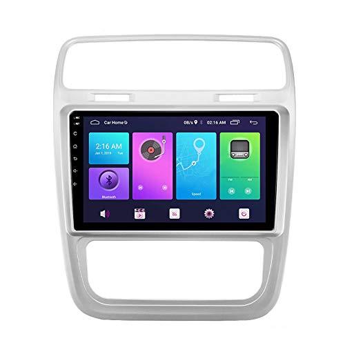 XXRUG Android Car Stereo Sat Nav para Volkswagen Scirocco 2015-2016 (AT AC) Unidad Principal Sistema de navegación GPS SWC 4G WiFi BT USB Mirror Link Carplay Integrado