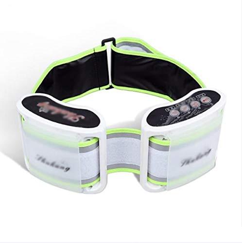 QAZ Vibratie massage riem lui elektrische afslanken machine dunne buik met dunne taille vetverbranding lichaam afslanken machine