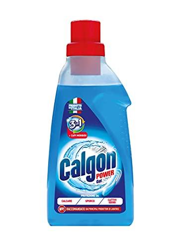 Calgon Gel Anticalcare Lavatrice Power Gel 3 in 1, 30 Lavaggi, 1500ml